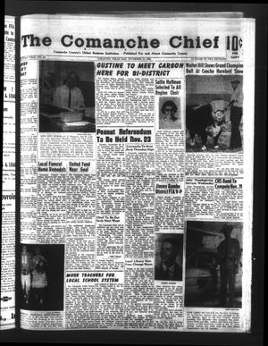 Primary view of object titled 'The Comanche Chief (Comanche, Tex.), Vol. 93, No. 22, Ed. 1 Friday, November 19, 1965'.