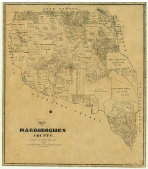 Primary view of object titled 'Nacogdoches County'.