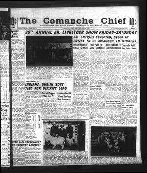 Primary view of object titled 'The Comanche Chief (Comanche, Tex.), Vol. 92, No. 31, Ed. 1 Friday, January 22, 1965'.