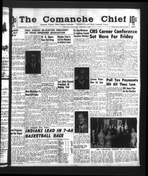 Primary view of object titled 'The Comanche Chief (Comanche, Tex.), Vol. 92, No. 33, Ed. 1 Friday, February 5, 1965'.