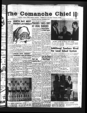 Primary view of object titled 'The Comanche Chief (Comanche, Tex.), Vol. 93, No. 25, Ed. 1 Friday, December 10, 1965'.