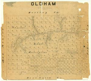 Primary view of object titled 'Oldham County'.
