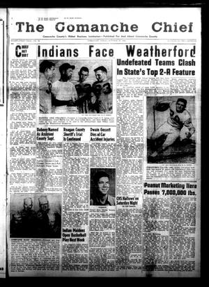 Primary view of object titled 'The Comanche Chief (Comanche, Tex.), Vol. 81, No. 16, Ed. 1 Friday, October 30, 1953'.