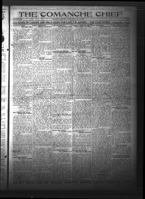 Primary view of The Comanche Chief (Comanche, Tex.), Vol. 50, No. 38, Ed. 1 Friday, May 12, 1922