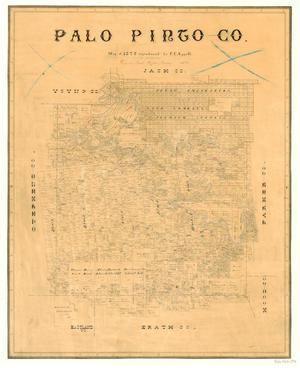 Primary view of object titled 'Palo Pinto County'.