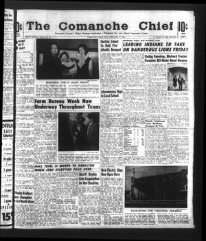 Primary view of object titled 'The Comanche Chief (Comanche, Tex.), Vol. 92, No. 34, Ed. 1 Friday, February 12, 1965'.