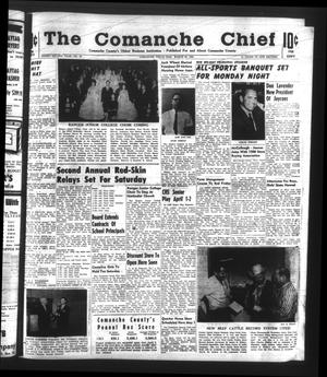 Primary view of object titled 'The Comanche Chief (Comanche, Tex.), Vol. 92, No. 40, Ed. 1 Friday, March 26, 1965'.