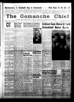 Primary view of object titled 'The Comanche Chief (Comanche, Tex.), Vol. 81, No. 19, Ed. 1 Friday, November 20, 1953'.