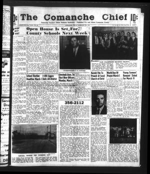 Primary view of object titled 'The Comanche Chief (Comanche, Tex.), Vol. 92, No. 36, Ed. 1 Friday, February 26, 1965'.