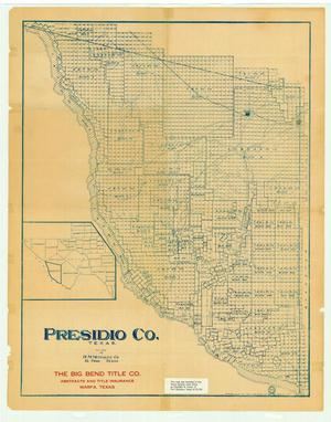 Primary view of object titled 'Presidio County'.