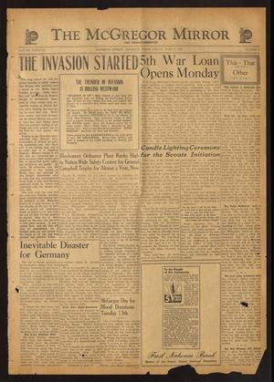 The McGregor Mirror and Herald-Observer (McGregor, Tex.), Vol. 56, No. 8, Ed. 1 Friday, June 9, 1944