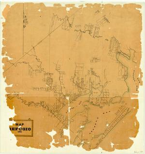Primary view of object titled 'Map of Refugio [County]'.