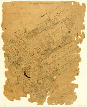 Primary view of object titled 'Map of Robertson County'.