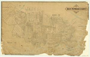 Primary view of object titled 'Map of San Patricio County'.
