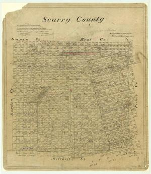 Primary view of object titled 'Scurry County'.