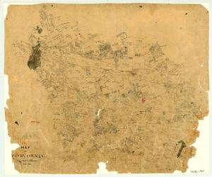 Primary view of object titled 'Map of Shelby County'.