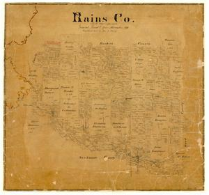 Primary view of object titled 'Rains County'.