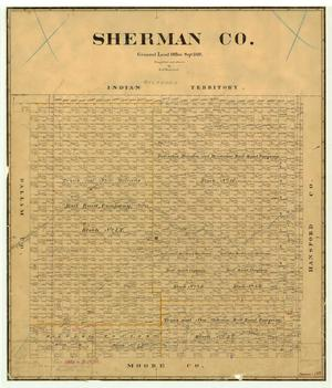 Primary view of object titled 'Sherman County'.