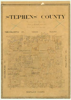 Primary view of object titled 'Stephens County'.