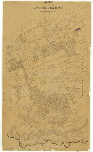Primary view of object titled 'Map of Starr County'.