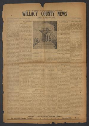 Primary view of object titled 'Willacy County News (Raymondville, Tex.), Vol. 6, No. 27, Ed. 1 Thursday, July 5, 1923'.