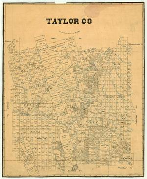 Primary view of object titled 'Taylor County'.