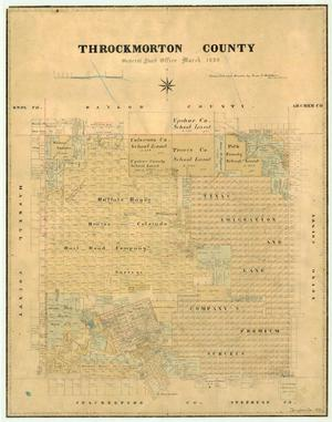 Primary view of object titled 'Throckmorton County'.