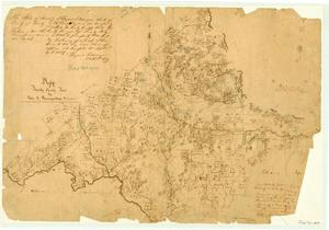 Primary view of object titled 'Map of Trinity County'.