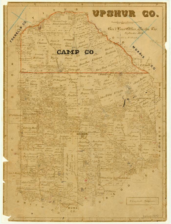 Upshur County - The Portal to Texas History on map of gruver texas, map of jasper texas, map of houston texas, map of iredell texas, map of camp county texas, map of graford texas, map of downtown fort worth texas, map of orange texas, map of lewisville texas, map of glenn heights texas, map of goodfellow afb texas, map of gregg county texas, map of weatherford texas, map of holly lake ranch texas, map of lincoln texas, map of texas texas, map of canton texas, map of center texas, map of fentress texas, map of grand saline texas,