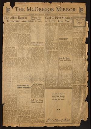 The McGregor Mirror and Herald-Observer (McGregor, Tex.), Vol. 56, No. 38, Ed. 1 Friday, January 12, 1945