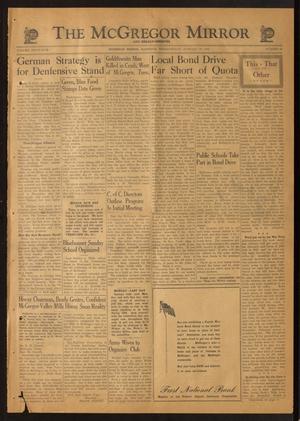 The McGregor Mirror and Herald-Observer (McGregor, Tex.), Vol. 55, No. 41, Ed. 1 Friday, January 28, 1944