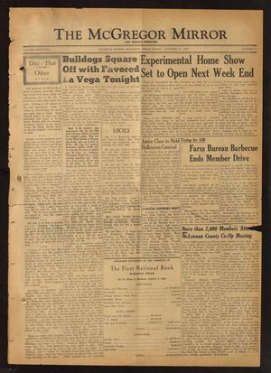 The McGregor Mirror and Herald-Observer (McGregor, Tex.), Vol. 62, No. 19, Ed. 1 Friday, October 13, 1950