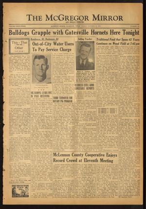 The McGregor Mirror and Herald-Observer (McGregor, Tex.), Vol. 63, No. 18, Ed. 1 Friday, October 12, 1951