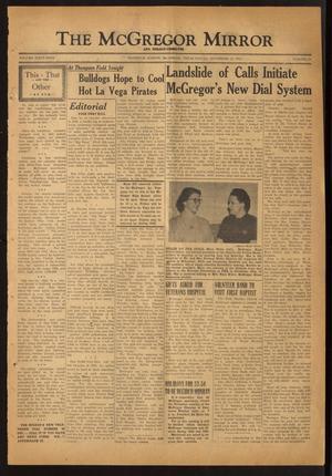 The McGregor Mirror and Herald-Observer (McGregor, Tex.), Vol. 64, No. 22, Ed. 1 Friday, November 14, 1952