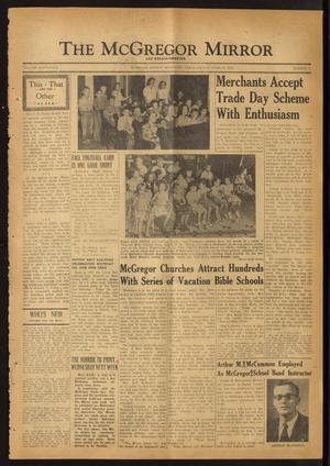The McGregor Mirror and Herald-Observer (McGregor, Tex.), Vol. 64, No. 2, Ed. 1 Friday, June 27, 1952