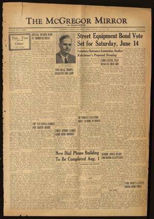 The McGregor Mirror and Herald-Observer (McGregor, Tex.), Vol. 63, No. 50, Ed. 1 Friday, May 30, 1952