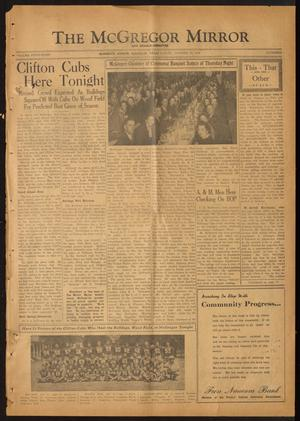 The McGregor Mirror and Herald-Observer (McGregor, Tex.), Vol. 58, No. 25, Ed. 1 Friday, October 25, 1946