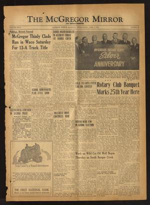 The McGregor Mirror and Herald-Observer (McGregor, Tex.), Vol. 60, No. 45, Ed. 1 Friday, April 8, 1949