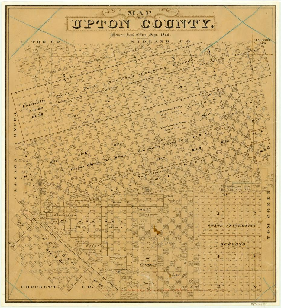 upton county Of the 2105 wells shown here,  1100 of them were drilled in upton county  below are two maps of the upton county wells the first is colored.