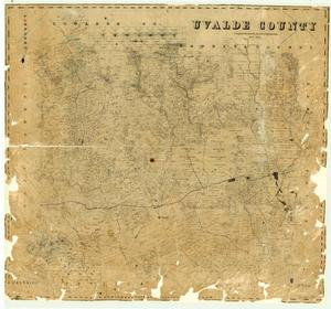 Primary view of object titled 'Uvalde County'.
