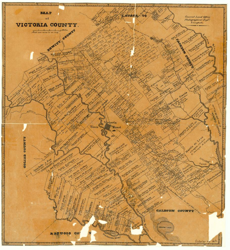 Map of Victoria County                                                                                                      [Sequence #]: 1 of 1