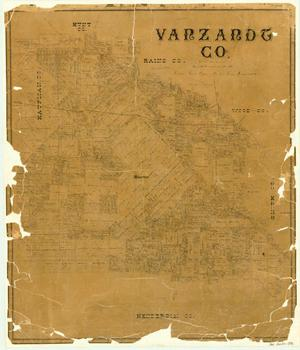 Primary view of object titled 'Van Zandt County'.