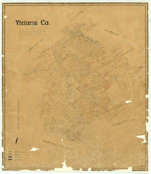 Primary view of object titled 'Victoria County'.