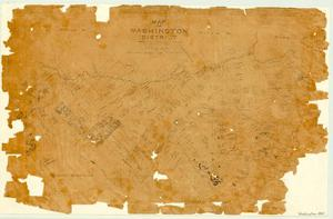 Primary view of object titled 'Map of Washington District'.