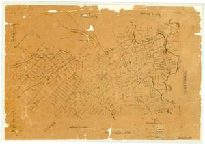 Primary view of object titled 'Map of Washington County'.