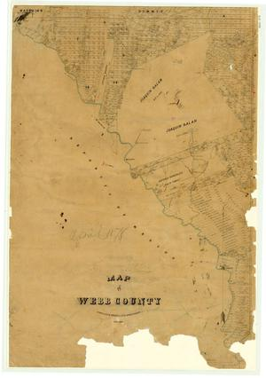 Map of Webb County