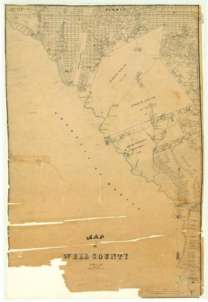 Primary view of object titled 'Map of Webb County'.
