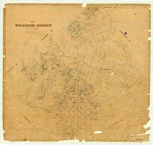 Primary view of object titled 'Wharton County'.