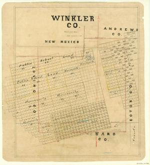 Primary view of object titled 'Winkler County'.