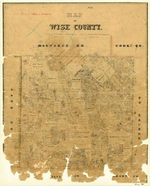 Primary view of Map of Wise County